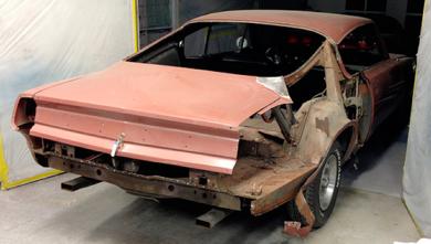 1969 Plymouth Barracuda Restoration